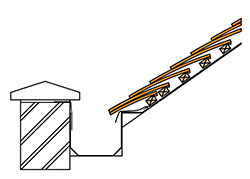 Design Details with Gutters, Pipes & other - Roof Tile