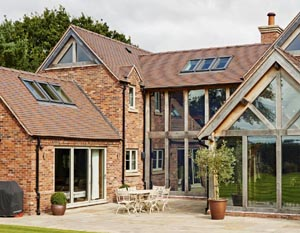 Oakframe Self Build Cheshire 1